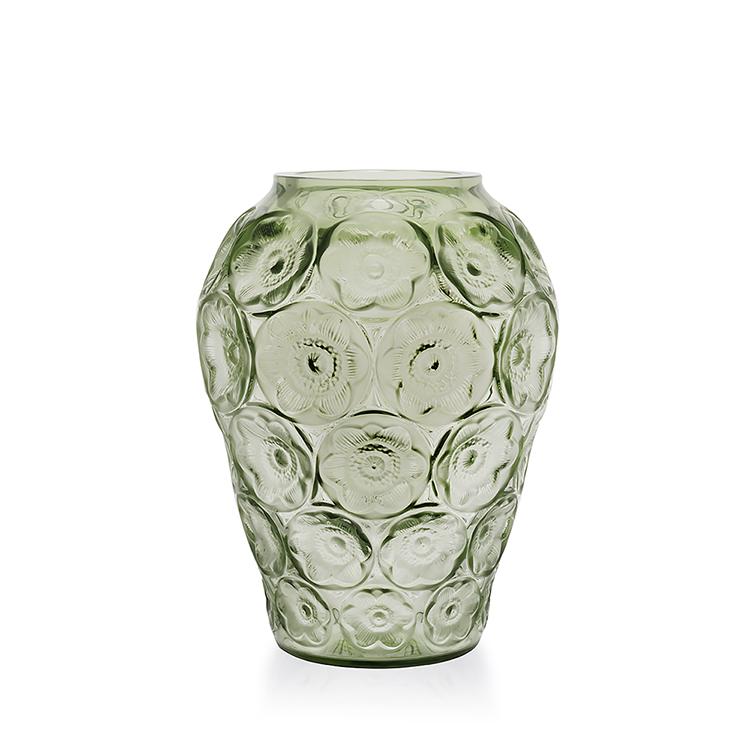Lalique Anemones Vase Paris Jewelers Gifts