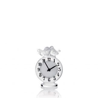 Lalique Antoinette Clock
