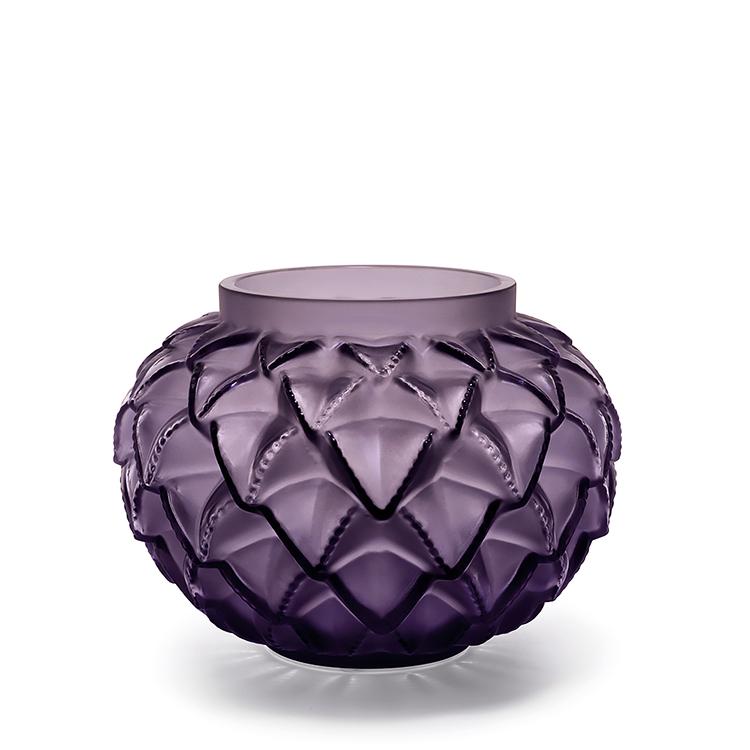 lalique languedoc vase - Lalique Vase