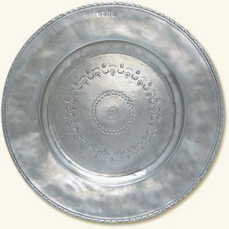 Match  Engraved Round Platter