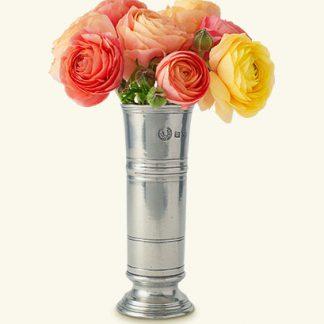 Match  Footed Cylinder Vase