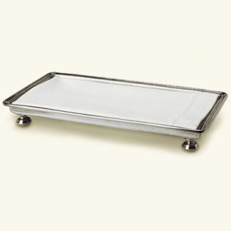 Match  Footed Guest Towel Tray