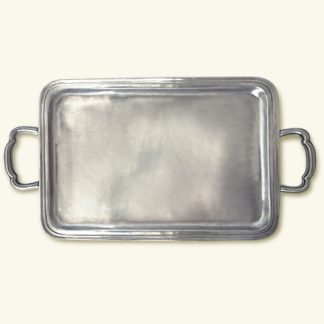 Match  Lago Rectangle Tray With Handles