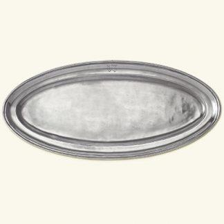 Match  Oval Fish Platter