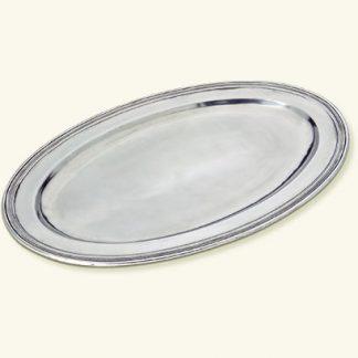 Match  Oval Platter