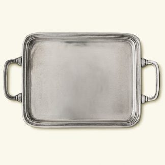 Match  Rectangle Tray With Handles