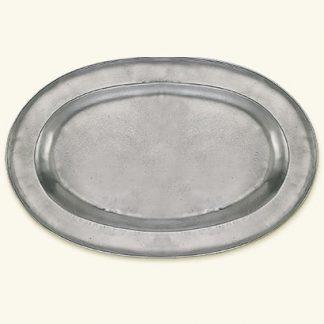 Match  Wide Rimmed Oval Platter