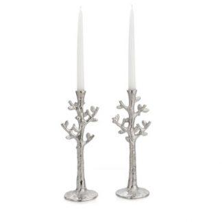 Michael Aram Tree Of Life Candleholders Set Of 2