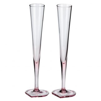 Moser Duet Champagne Flute Pair