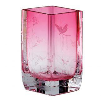 Moser Fleur Vase