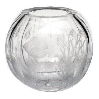 Moser Globe Vase