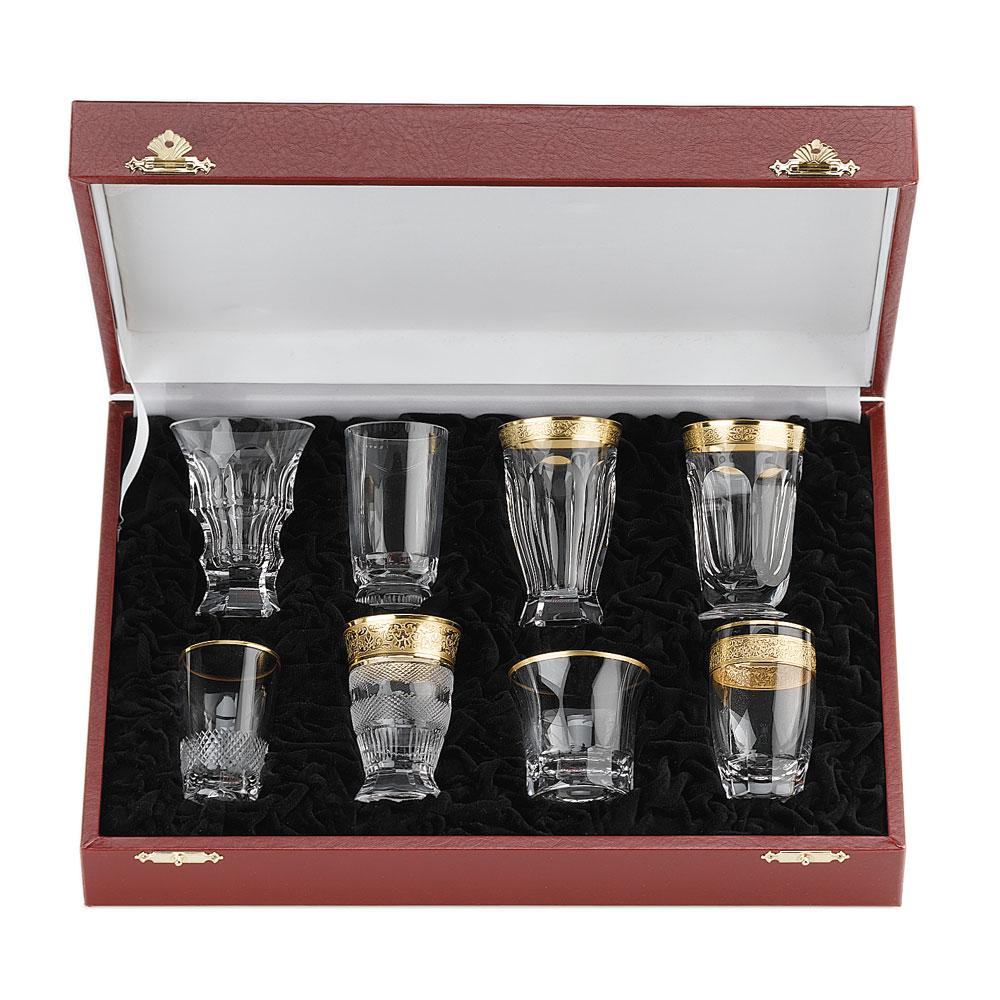 Moser Set Set Of 8 Shot Glasses