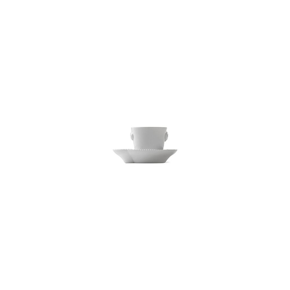 royal copenhagen white elements espresso cup and saucer. Black Bedroom Furniture Sets. Home Design Ideas