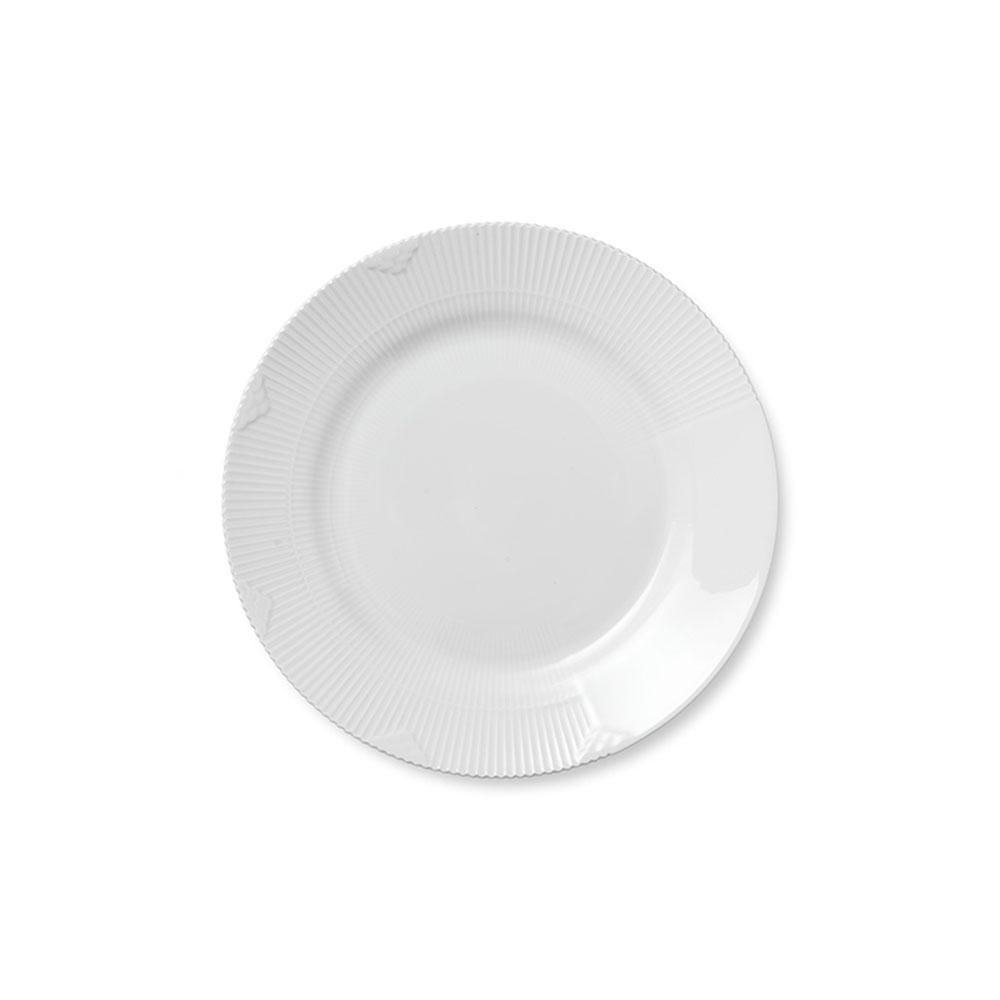 royal copenhagen white elements luncheon plate paris. Black Bedroom Furniture Sets. Home Design Ideas