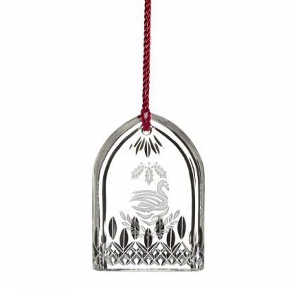 Waterford 12 Days Of Christmas 2017 Lismore Seven Swans Ornament