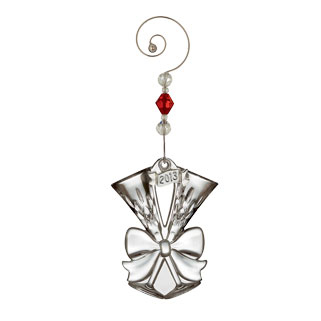 Waterford 2013 Annual Lismore Toasting Flute Ornament