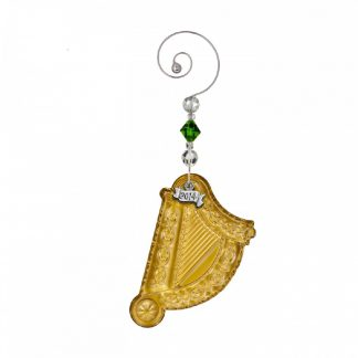 Waterford 2014 Annual Gold Harp Ornament