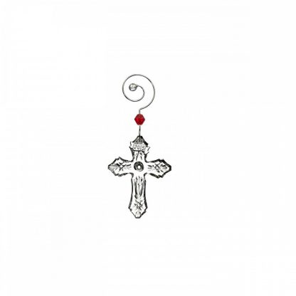 Waterford 2015 Annual Mini Cross Ornament