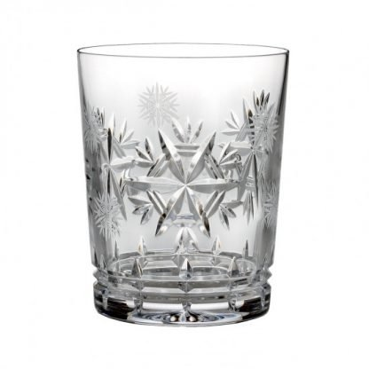 Waterford  2015 Snowflake Wishes For Health Glenmore Double Old Fashioned