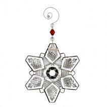 Waterford 2016 Annual Snowcrystal Pierced Ornament