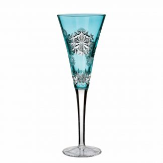 Waterford  2018 Snowflake Wishes Happiness Prestige Aqua Edition Flute