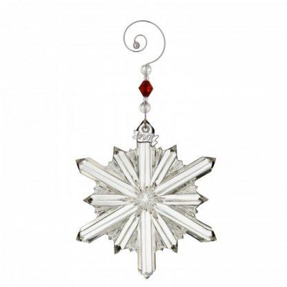 Waterford Annual Snowstar Ornament