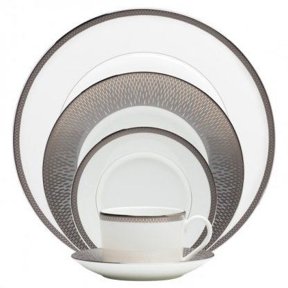 Waterford Short Stories Aras Dinnerware Aras Grey 5-Piece Place Setting