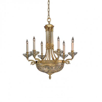 Waterford Beaumont 6-Arm Chandelier
