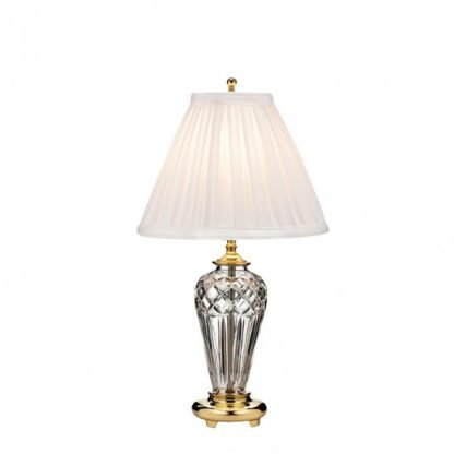 Waterford Belline Polished Brass 18in Accent Lamp