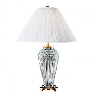 Waterford Belline Polished Brass 29in Table Lamp