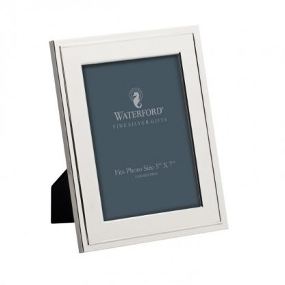Waterford Classic Silver 5x7 Frame