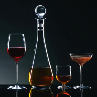 Waterford Elegance Tall Decanter With Round Stopper
