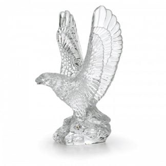 Waterford Fred Curtis 7.5in Eagle Sculpture Collectible