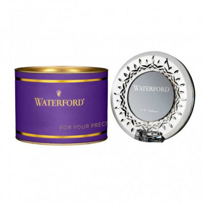 Waterford Giftology Lismore Round Mini Frame