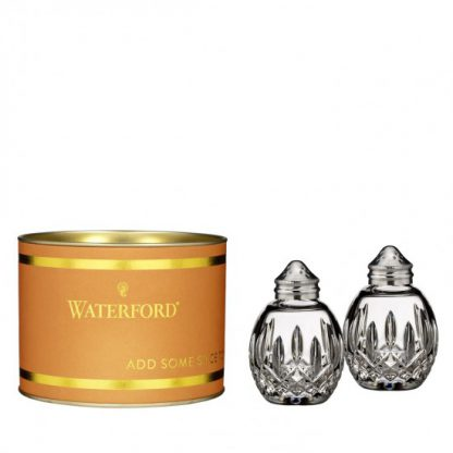 Waterford Giftology Lismore Round Salt & Pepper