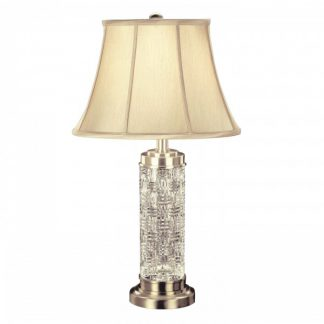 Waterford Grafix Silver Luna 30.5in Table Lamp