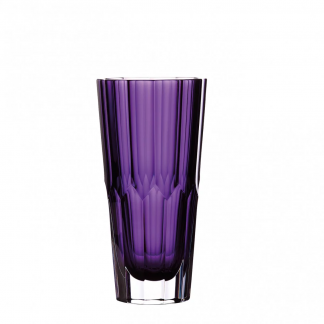 Waterford Jeff Leatham Icon Icon 10in Amethyst Vase