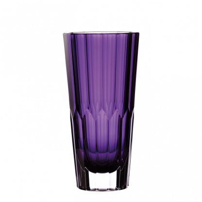 Waterford Jeff Leatham Icon Icon 12in Amethyst Vase