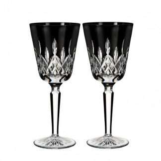 Waterford Lismore Black Goblet