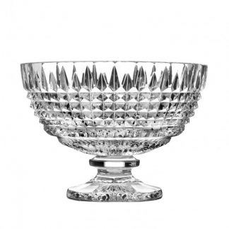 Waterford Lismore Diamond Footed Centerpiece