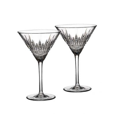 Waterford Lismore Diamond Martini