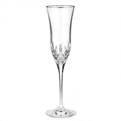 Waterford Lismore Essence Platinum Champagne Flute