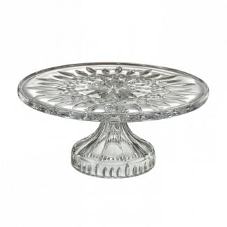 Waterford Lismore Footed Cake Plate