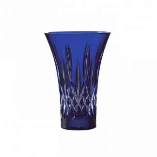 Waterford Lismore Lismore 8in Blue Flared Vase