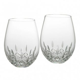 Waterford Lismore Nouveau Stemless Deep Red Wine