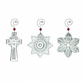 Waterford  Mini Ornaments Set Of 3