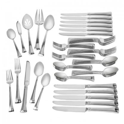 Waterford Mont Clare Stainless 65-Piece Flatware Set