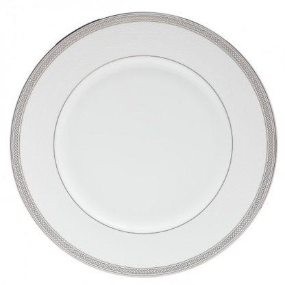 Waterford Short Stories Olann Dinnerware Olann Platinum Dinner Plate