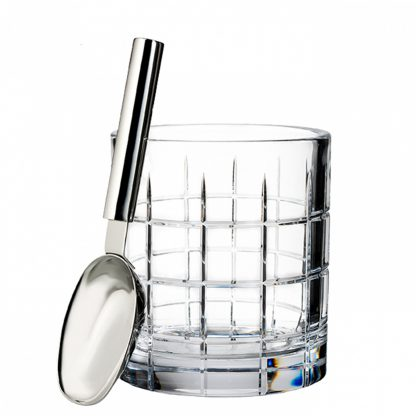 Waterford Short Stories Cluin Barware Cluin Ice Bucket With Scoop
