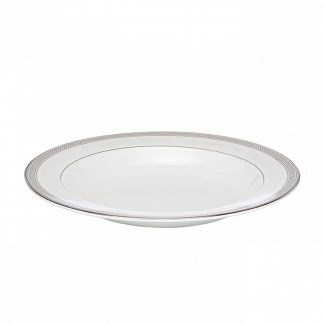 Waterford Short Stories Olann Dinnerware Olann Platinum Rim Soup